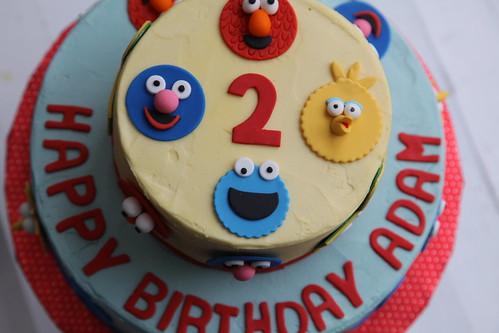 Adam's Sesame Street cake