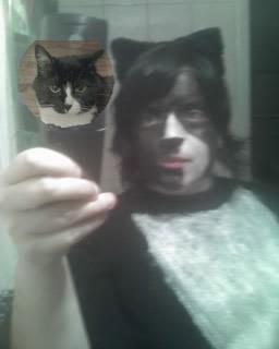 me as monster cat.