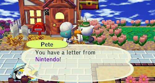Nintendo Letter!
