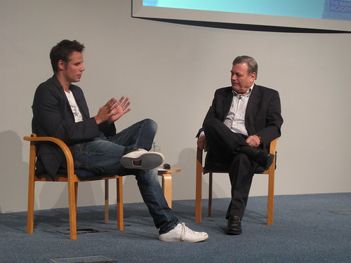 Richard Bacon interviews Tony Blackburn