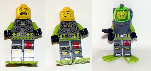 LEGO Atlantis 8056 - Minifig