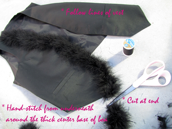 marabou-feather-vest-DIY-3