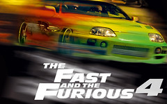 [Poster for Fast and Furious with Fast and Furious, Justin Lin, Vin Diesel, Paul Walker, Jordana Brewster, Michelle Rodriguez]