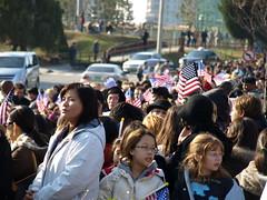 President Obama Visit - Yongsan Garrison, Seou...