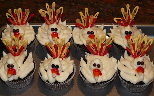 Turkey Day 2009 Cupcakes