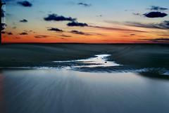 Life on Mars... (Mark-F) Tags: sunset coast lancashire blackpool markf fylde blackpoolbeach wetfeet lifeonmars markfreeman sonyalpha300 sonyalphadslra300 southpierblackpool minoltaaf3570mm