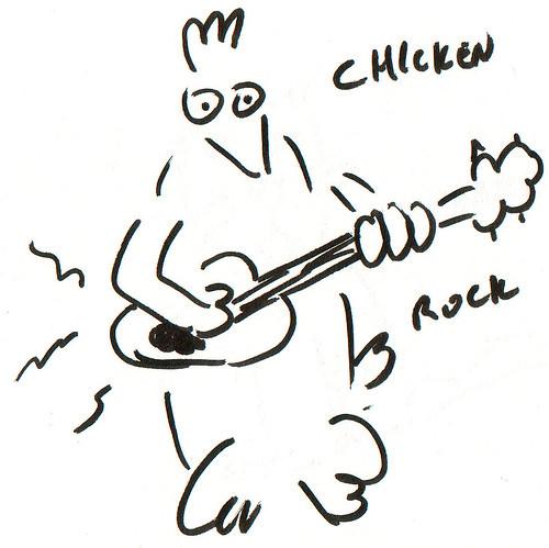 366 Cartoons - 290 - Chicken Rock