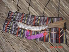 The Laraw (kukulza28) Tags: knife taiwan sword aborigine blade machete dao 烏來 rattan taiwanese wulai sheath 刀 atayal 原住民 tayal 銅門 laraw yuanzhumin 番刀 mgaga