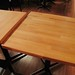 Refuel Neighbourhood Restaurant & Bar | New butcher block tables