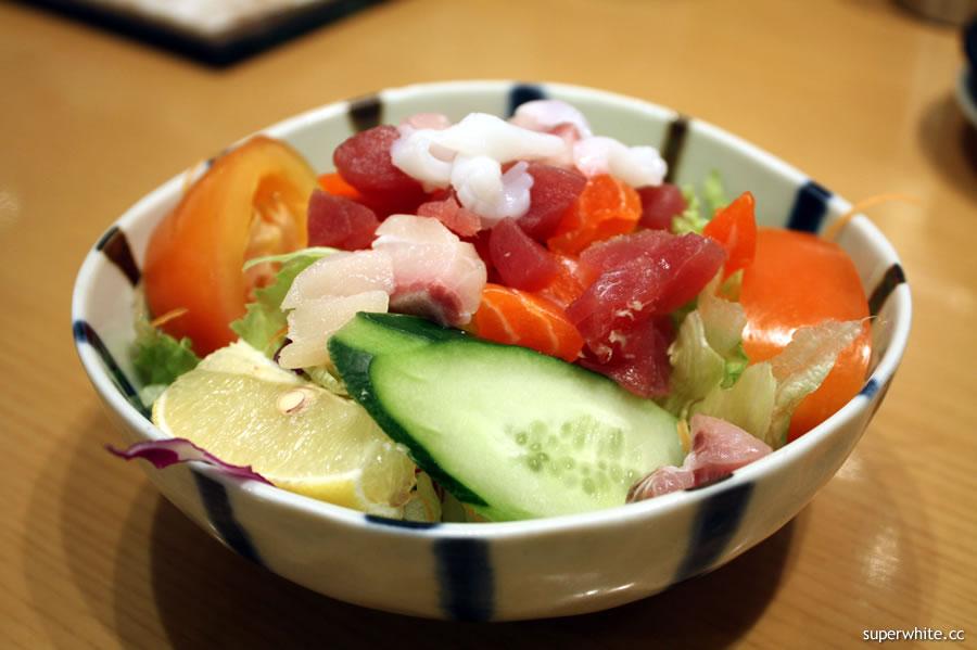 Sushi Zanmai Sashimi Salad