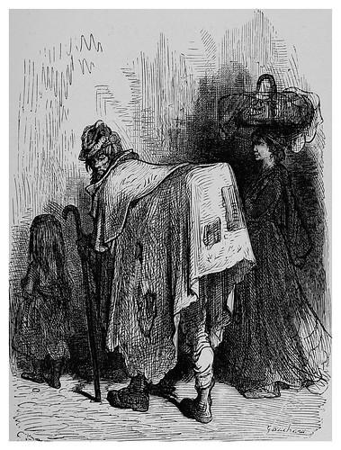 008--Buhonero aragones-Spain (1881)- Doré Gustave