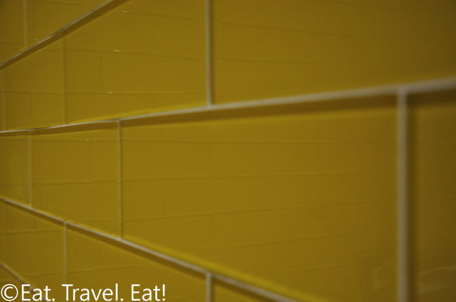 Yellow Glass Tiles