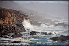 Powerful tidal waves, Soberanes Point (rickz) Tags: california park ca beach rock landscape waves power tide bigsur wave garrapatastatepark garrapata powerful tidal soberanespoint soberanes