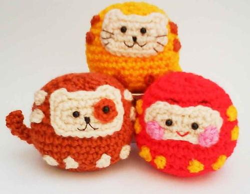 Onigiri Couple Amigurumi Free Crochet Pattern : Flickriver: Most interesting photos from Amigurumi Japan pool