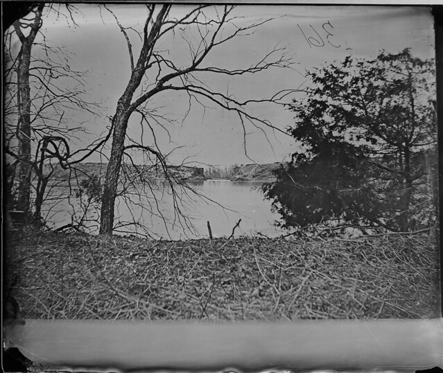 View of Dutch Gap James River Va by The US National Archives