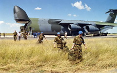 Peacekeeping Troops Arrive in Namibia (United Nations Photo) Tags: unitednations namibia grootfontein