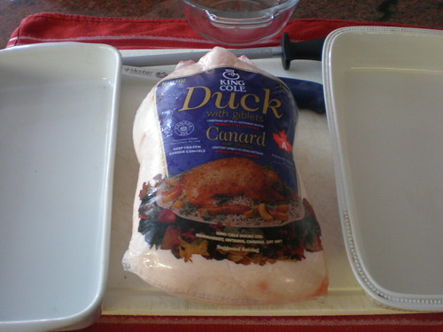 The defrosted King Cole duck