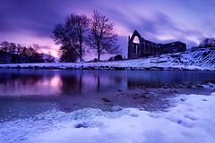 Worth The Wait (jasontheaker) Tags: uk snow west water river yorkshire north wharfedale wharfe storiths jasontheaker boltonabbey
