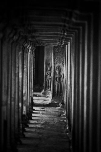 An Angkor Wat Corridor