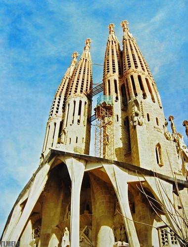 La Sagrada Familia - Barcelona - Spain