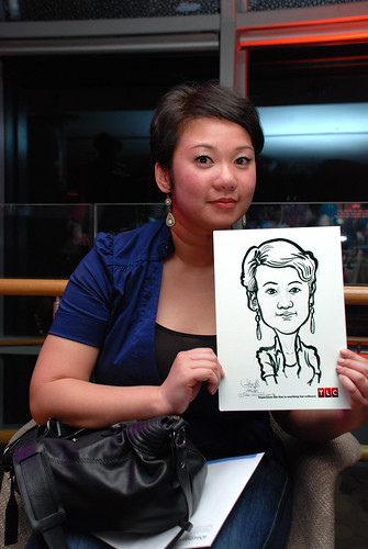 Caricature live sketching for TLC - 32