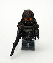 Killzone LMG Trooper (JasBrick) Tags: lego hazel minifig custom helghast killzone