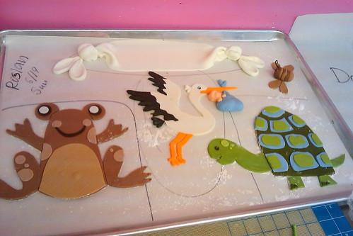 Babyshower cake Coccadotts05
