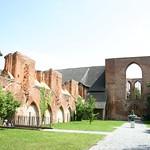 Ruin of choir in St. John´s monastery