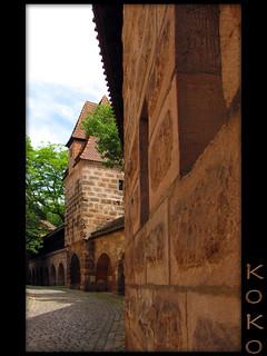 Nuremberg wall