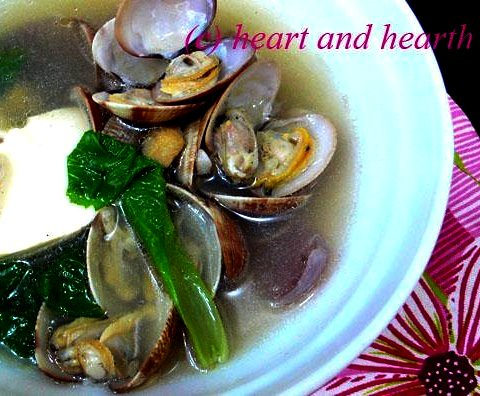 clam mustard soup