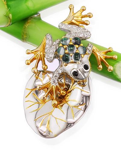 Precious Frog Pendant