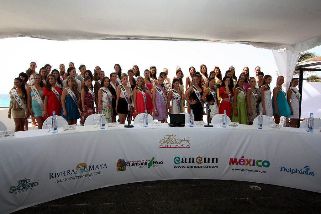 concursantes Miss España Cancún