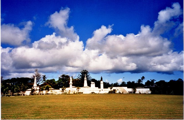 Tonga - Kings' graves, Nuku'alofa