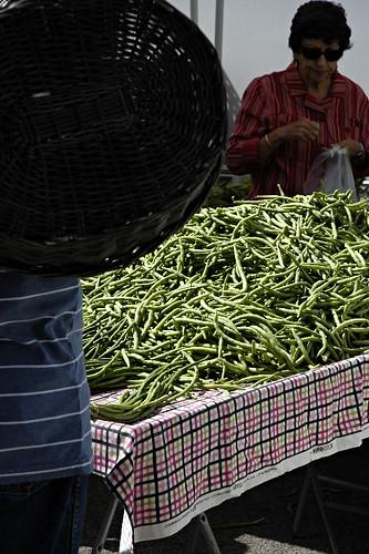 Local Organic Green Beans