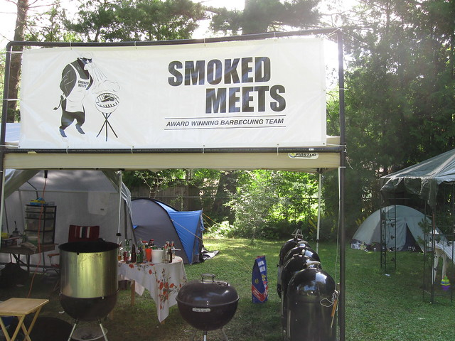 Meat Fest 2009 - Smoked Meets BBQ Team!