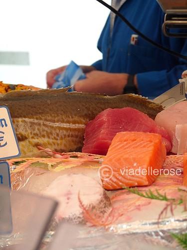 Au marché- poissonier