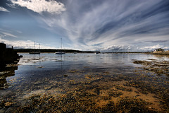 Findhorn harbour (Chris Beesley) Tags: sea seascape landscape scotland seaside harbour wideangle findhorn sigma1020mm pentaxk100dsuper