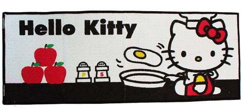 SANRIO HELLO KITTY KITCHEN FLOOR MAT CARPET 45 LONG @ SGD60.00