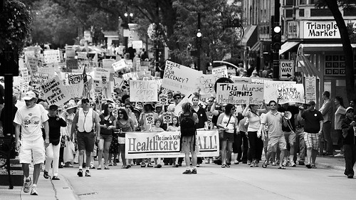 Healthcare For All Rally at the Capitol