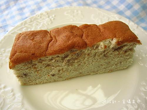 台青蕉香蕉蛋糕切片