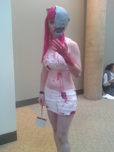 elfen lied cosplay. Lucy from Elfen Lied.