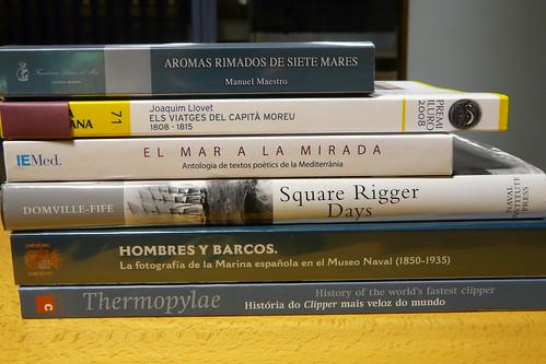 Museu Marítim. Biblioteca. Lectures refrescants