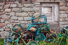 Oyster Pots on Tory Island, by MarsW via Flickr