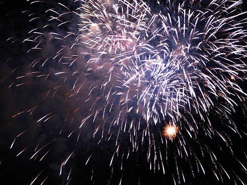Fireworks in Itabashi, 2009 - 4