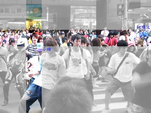 (B)新竹 MJ 快閃 beat it16