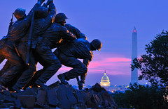 Dawns Early Light (dyoshida) Tags: pink blue usa monument night dc washington nikon capitol nationalmall bluehour washingtonmonument iwojima d300 blueribbonwinner iwojim dyoshida