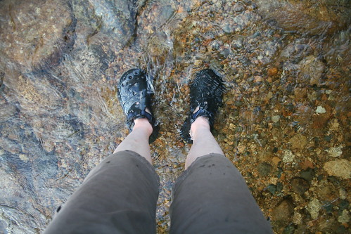 My feet in the Pemi