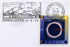 11 AOÛT 1999 / ECLIPSE TOTALE DU SOLEIL / ROHRBACH LES BITCHE