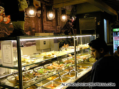 Wide array of dishes