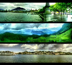 3 panoramic views of Switzerland (2007) (jesuscm) Tags: city mountain switzerland vacances holidays suisse suiza  lakes ciudad lagos montaa vacaciones panormicas otw panoramicviews mywinners artlibre theunforgettablepictures awardtree jesuscm